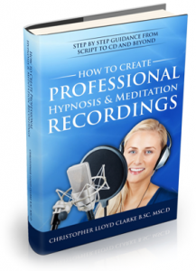 How to Create Hypnosis Recording Ebook Cover